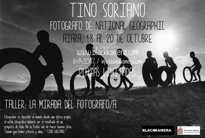 Taller con Tino Soriano