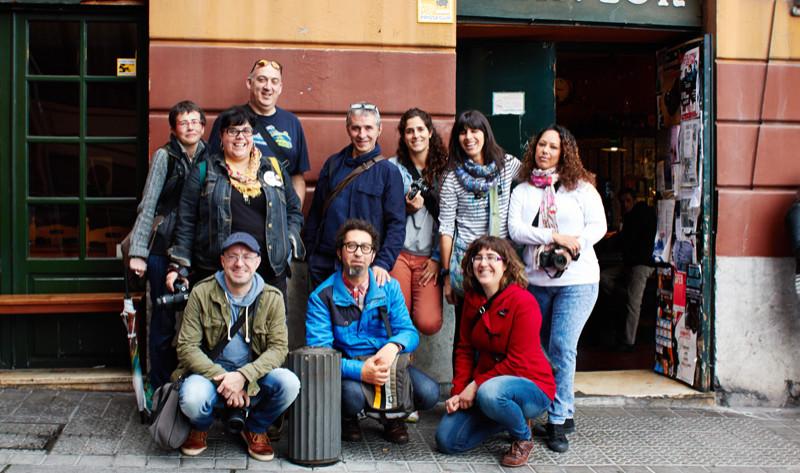 Taller de fotografía de calle con Josu Zaldibar