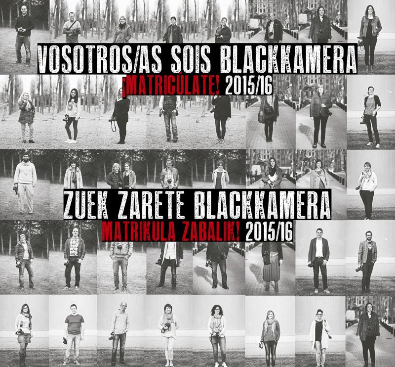 Matricúlate en Blackkamera. 2015/16