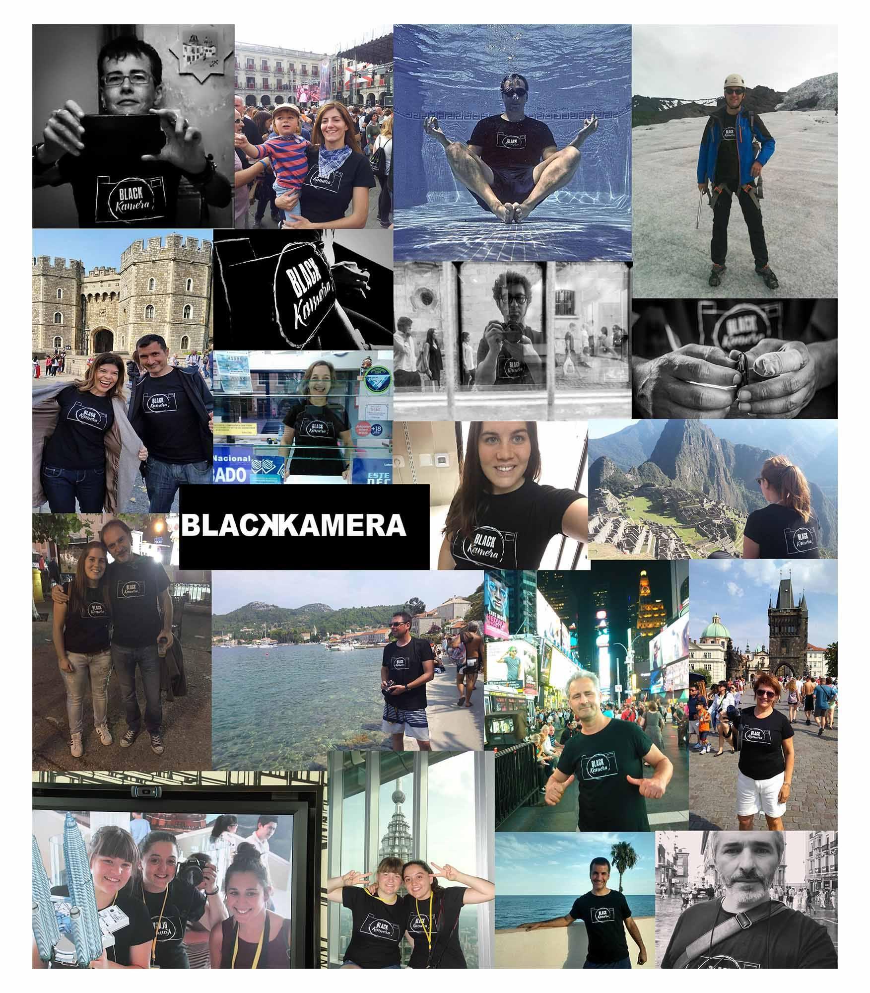 Los viajes de Blackkamera