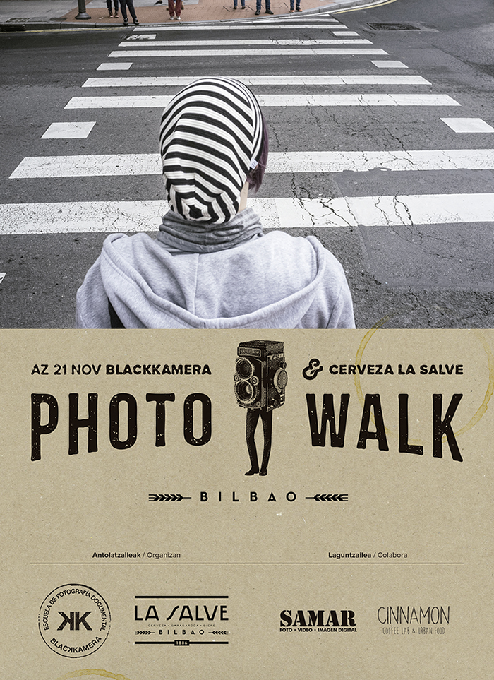 Blackkamera PhotoWalk Bilbao