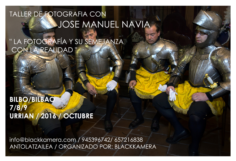 Taller de fotografia con Jose Manuel Navia