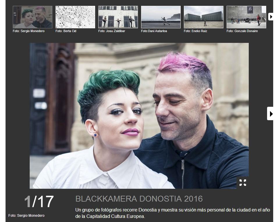 Blackkamera Donostia 2016 en Eitb