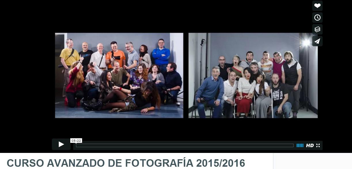 Fin del Curso Avanzado de Fotografía de Blackkamera 2015