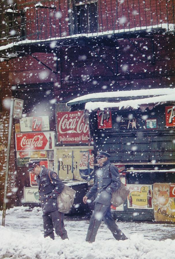 Letras y Fotografía # 24 - Saul Leiter