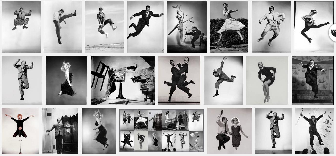 Letras y Fotografía # 28 -  Philippe Halsman