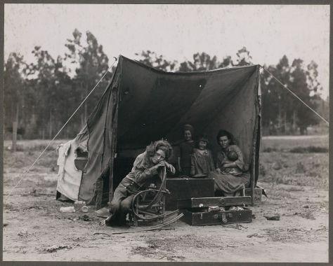 Grandes fotografías: La madre migrante por Dorothea Lange
