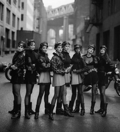 Letras y Fotografía # 48 - Peter Lindbergh