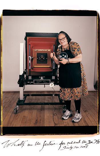 Letras y Fotografía # 61 Elsa Dorfman