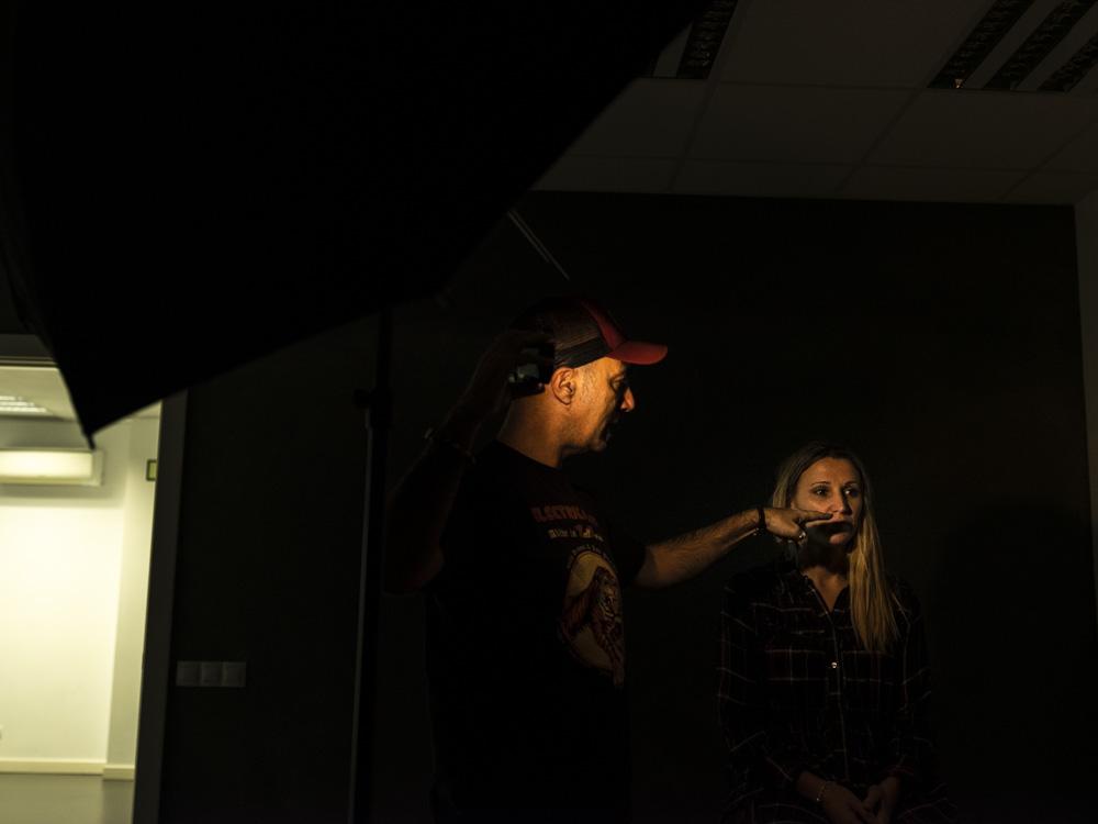 Taller de retrato con Jon Rodriguez en Bilbao