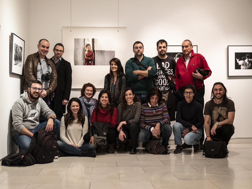 Nueva visita del Curso Avanzado 2019 al Photomuseum de Zarautz.