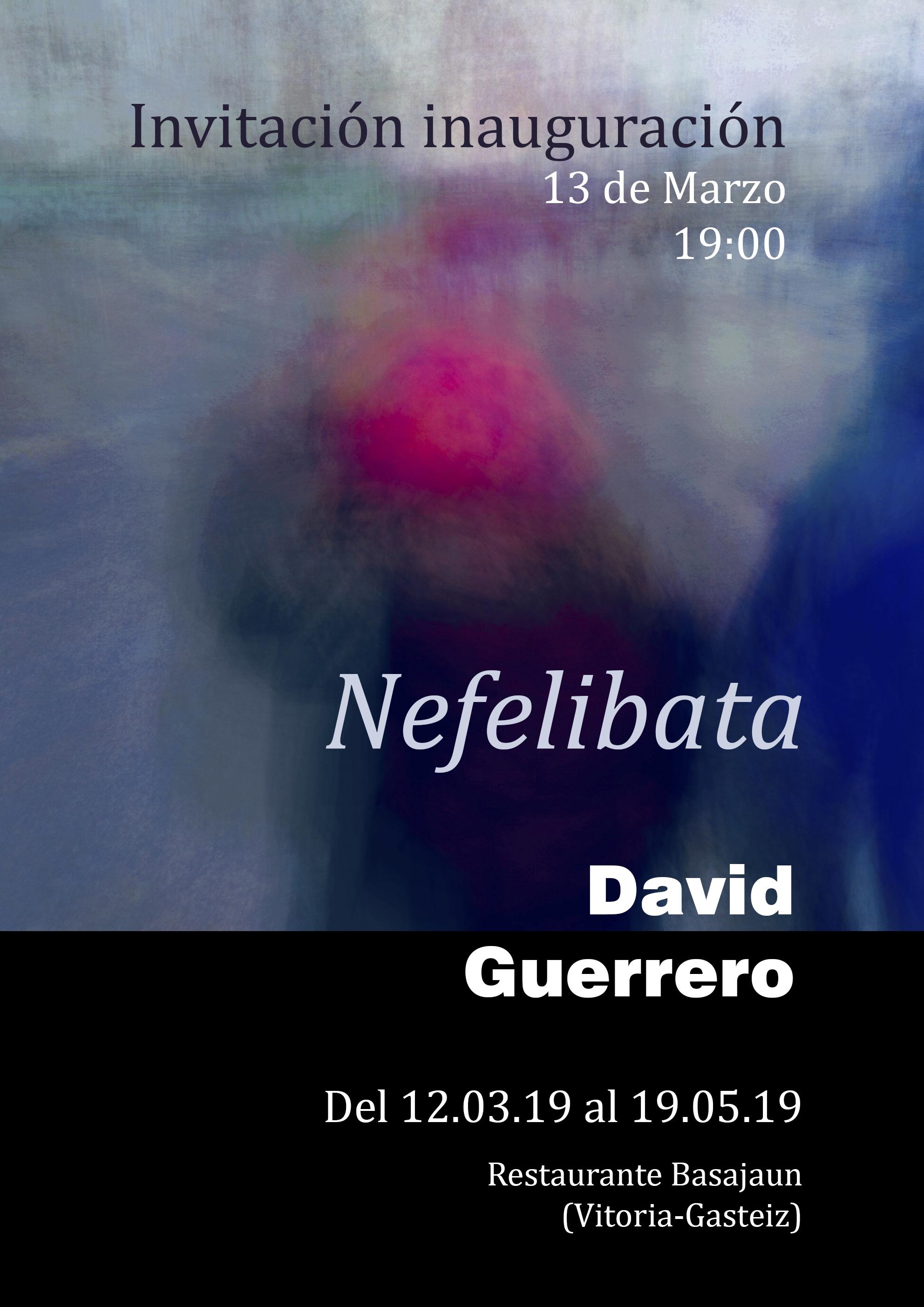 """""""Nefelibata"""", exposición de David Guerrero en Vitoria"""