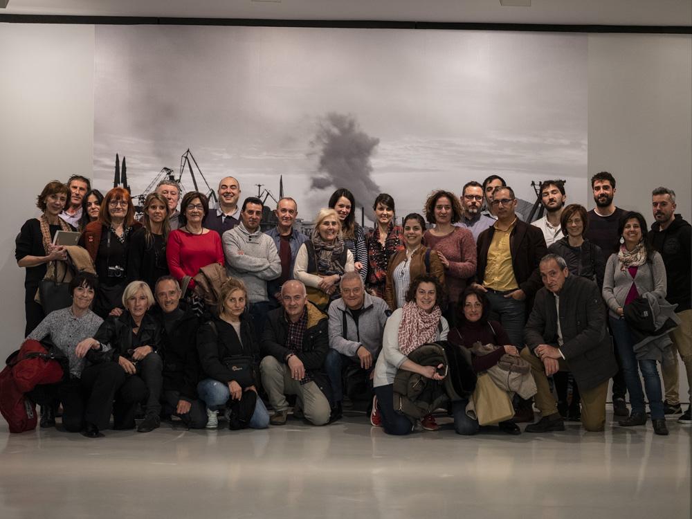 Visita a la Exposición de Carlos Cánovas en la Sala Rekalde