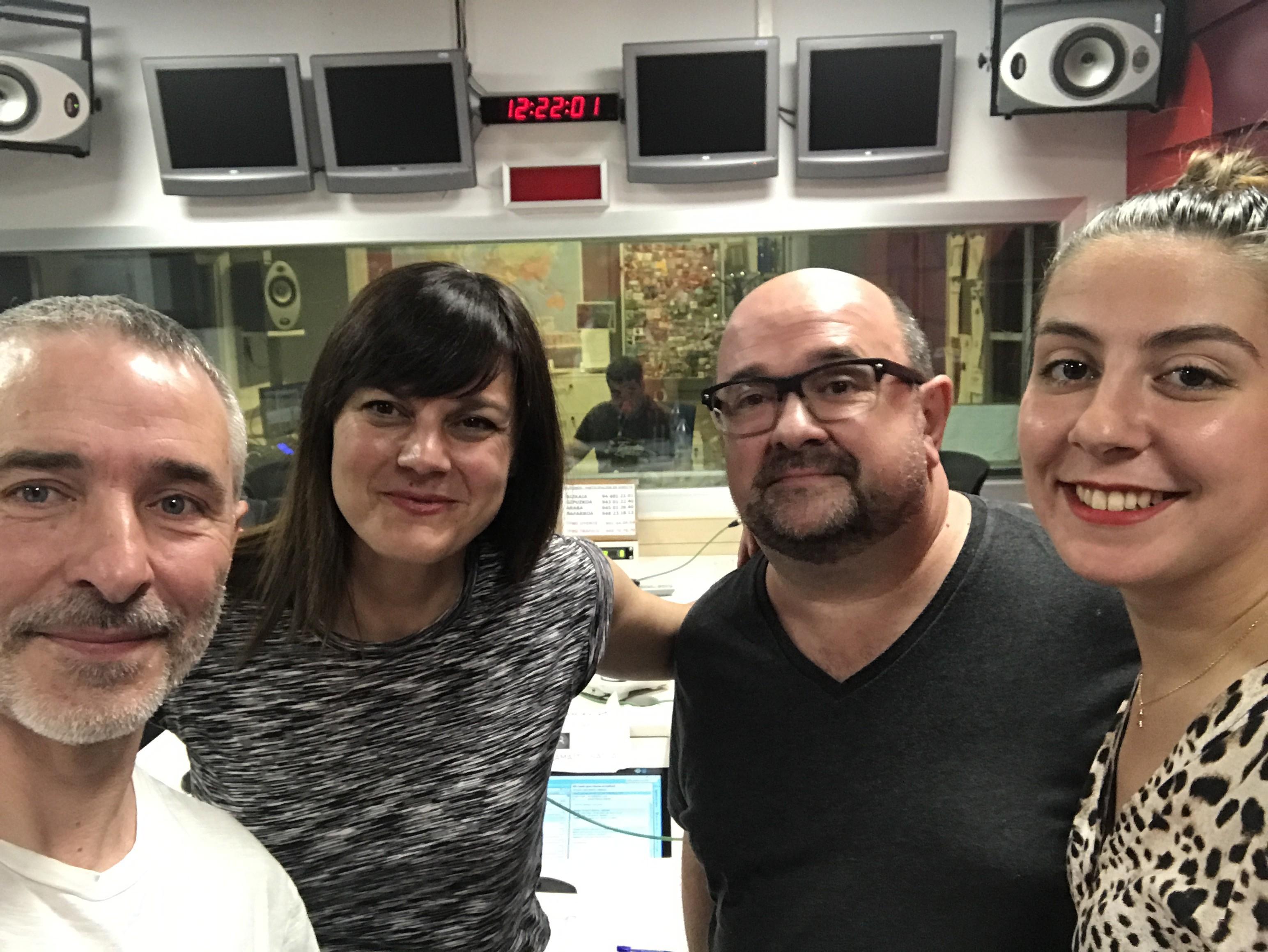 Boulevard Magazine con Josu Zaldibar en Radio Euskadi. El retrato