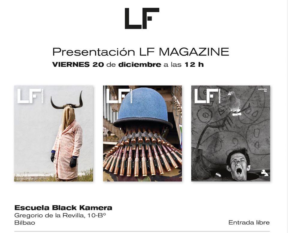 Presentación de la revista LF Magazine en Blackkamera
