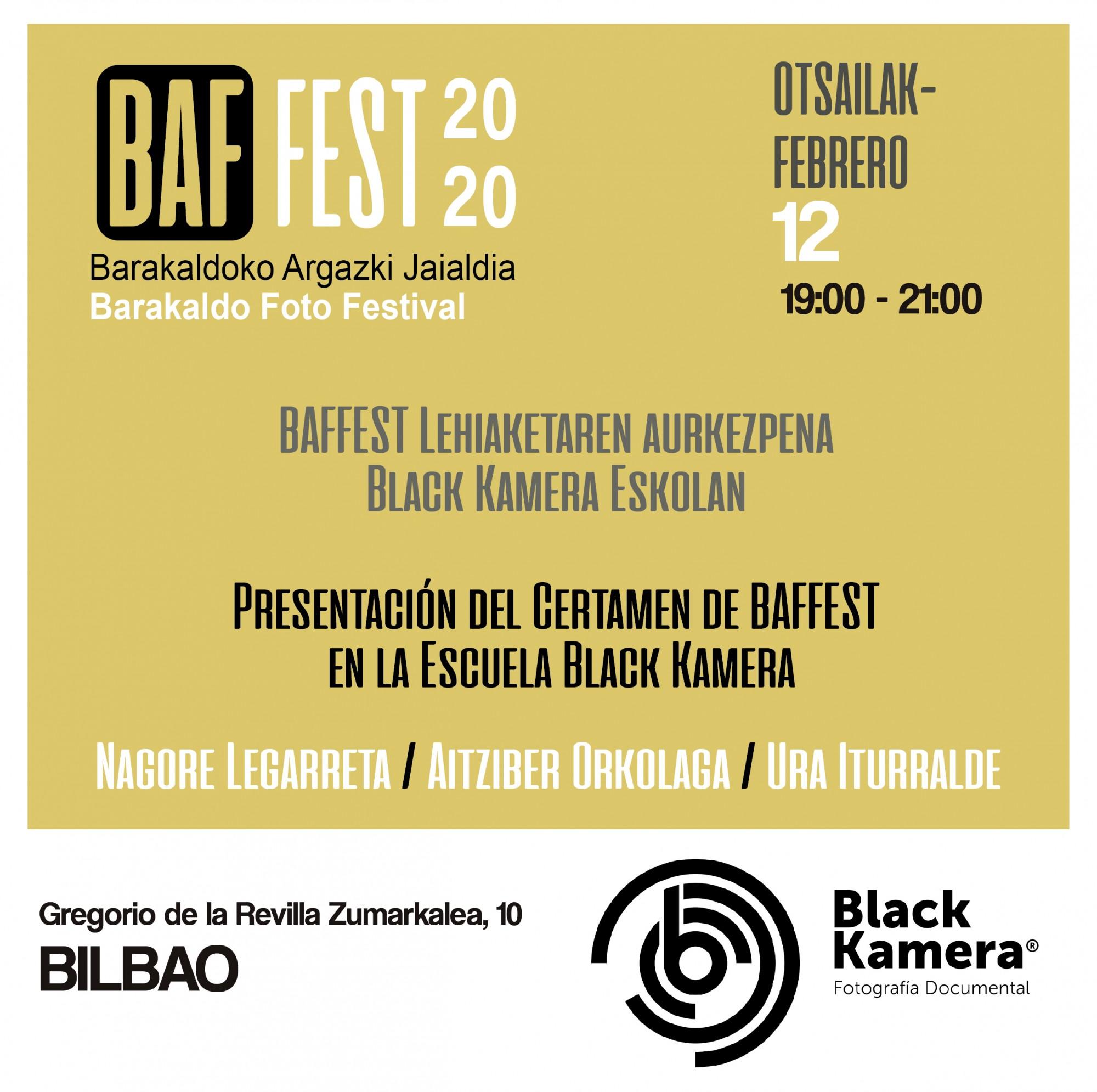 Presentación de Baffest 2020 en Blackkamera.