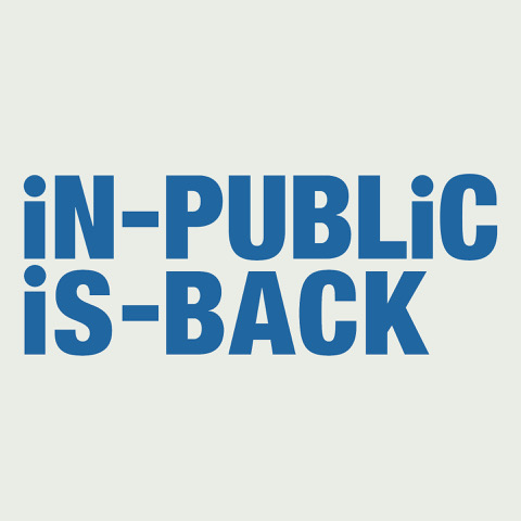 The relaunch of iN-PUBLiC collective.