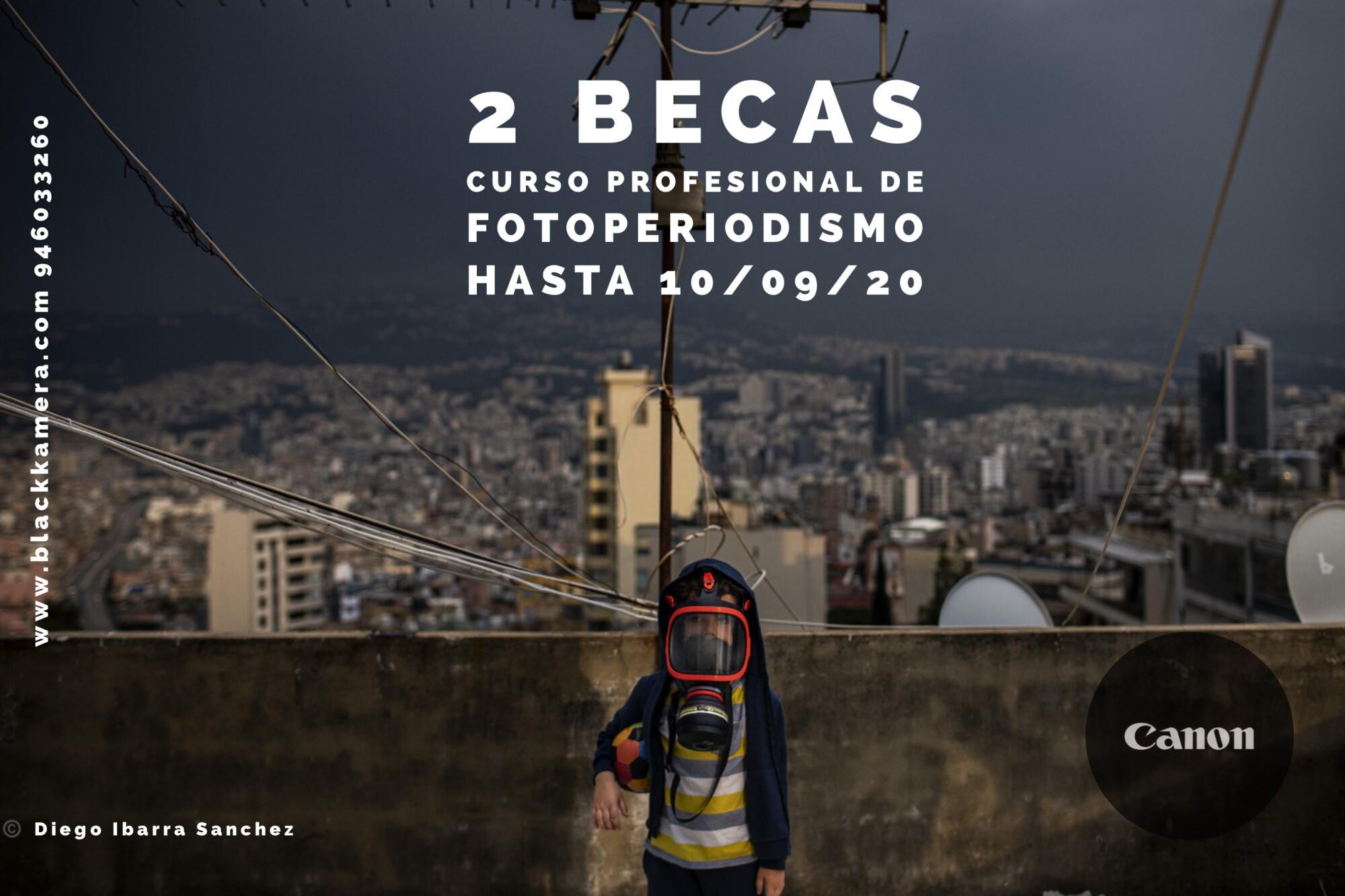 Dos becas en el Curso Profesional de Fotoperiodismo.