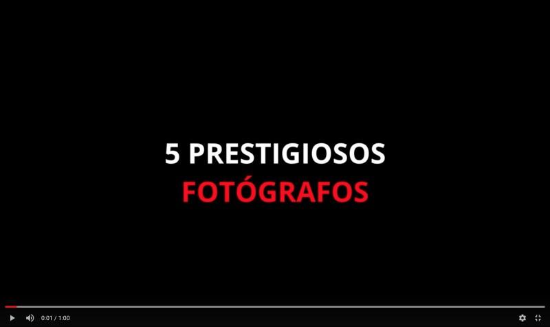 Video Curso Profesional Fotoperiodismo