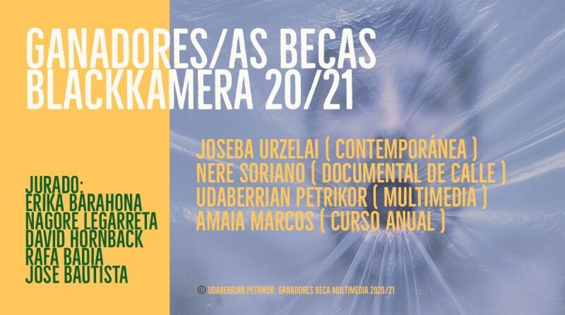 Ganadoras/es y finalistas de las Becas Blackkamera 2020/21
