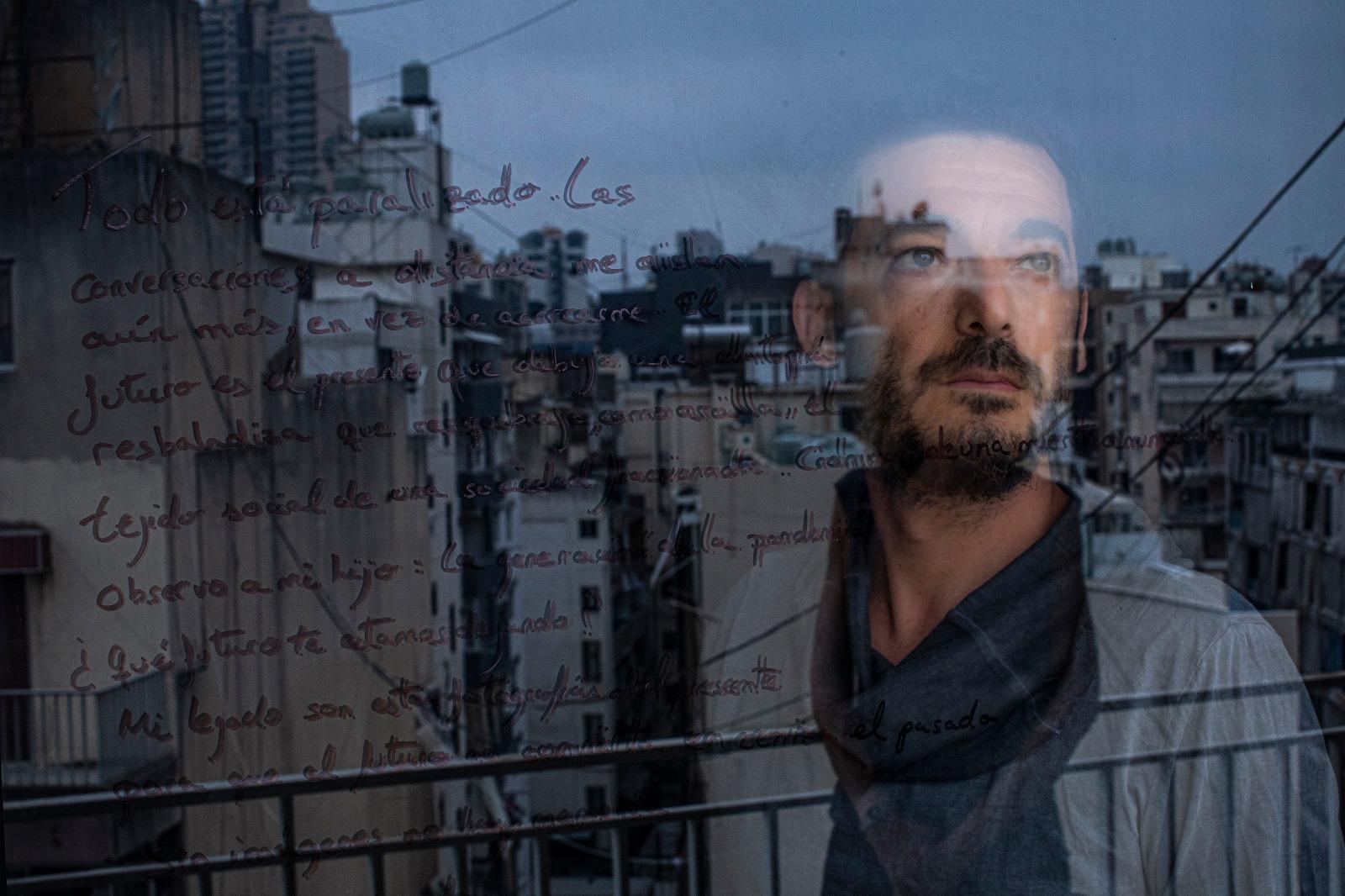 Diego Ibarra, profesor del Curso Profesional de Fotoperiodismo.
