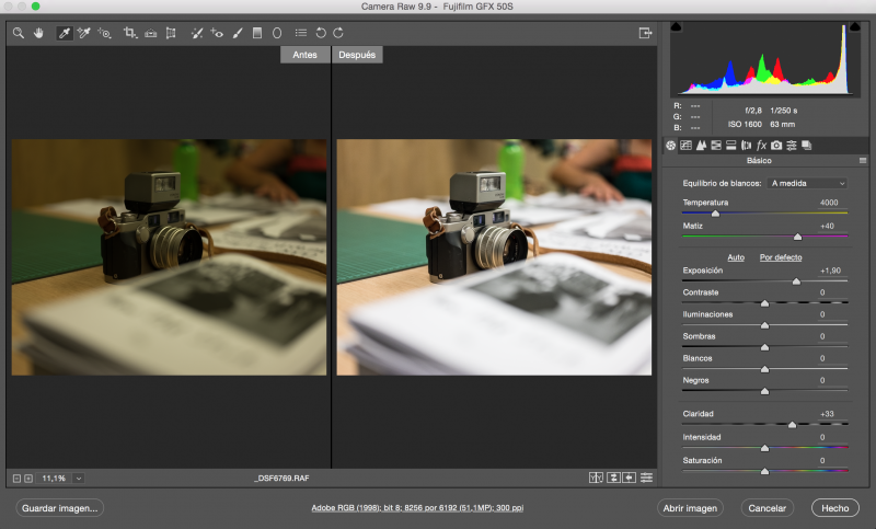 CURSO DE ADOBE BRIDGE Y CAMERA RAW