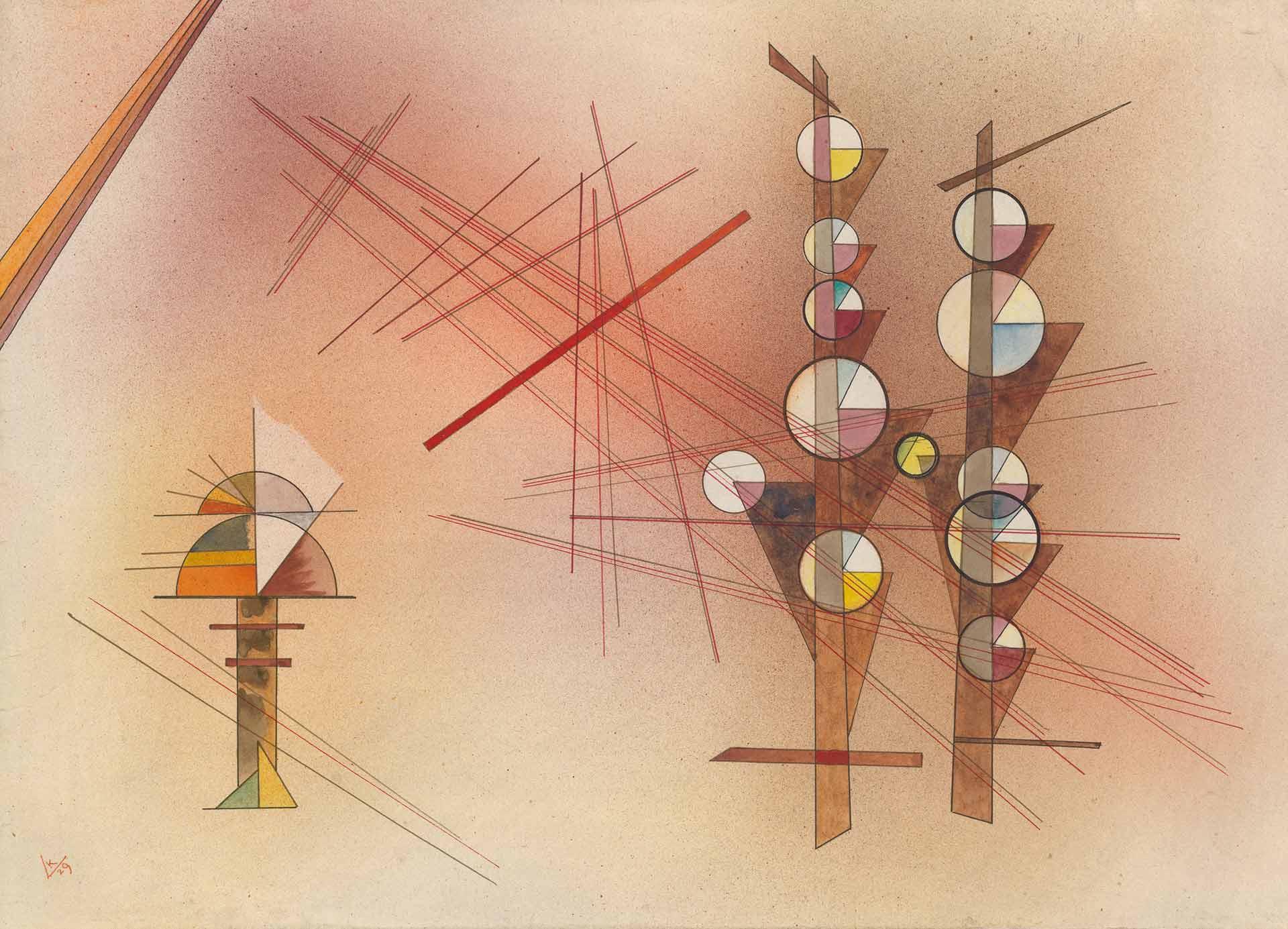 Visita guiada a la exposición de Kandinsky en el Museo Guggenheim
