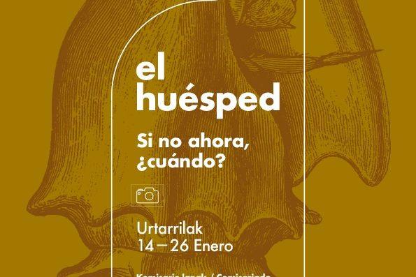 Visita guiada a la Exposición, «El Huésped. Si no ahora, ¿cuándo?