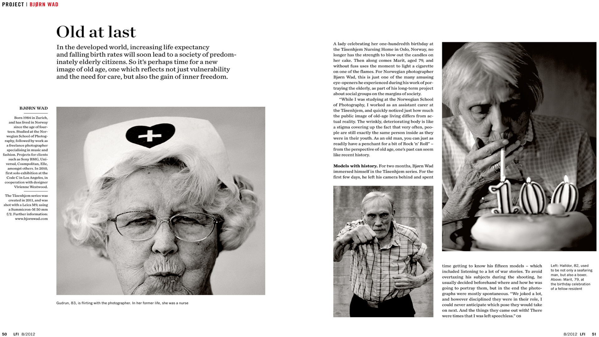 """Masterclass con Carol Körting de """"Leica Fotografie Internacional""""."""