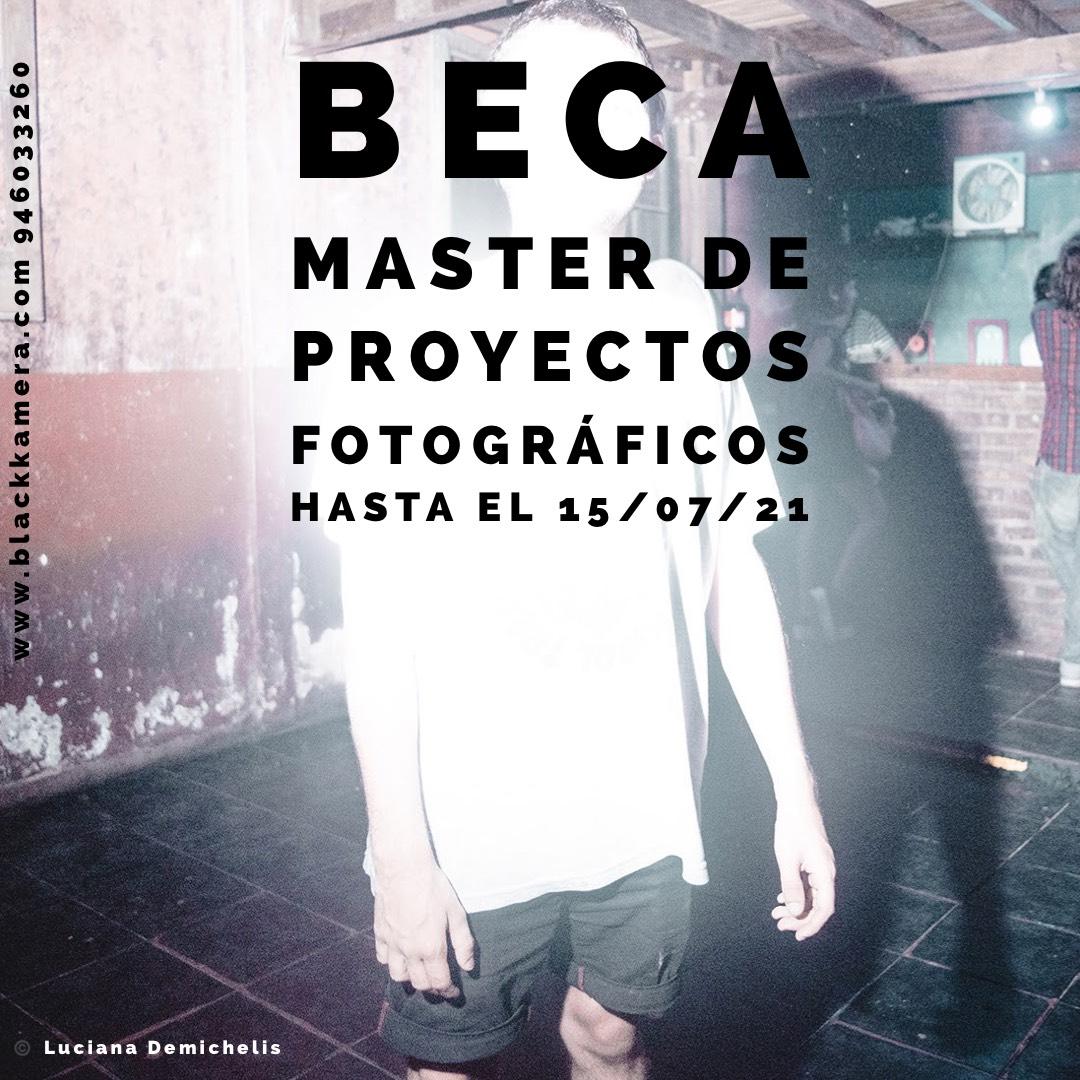 Beca Master de proyectos fotográficos en Blackkamera 2021/22