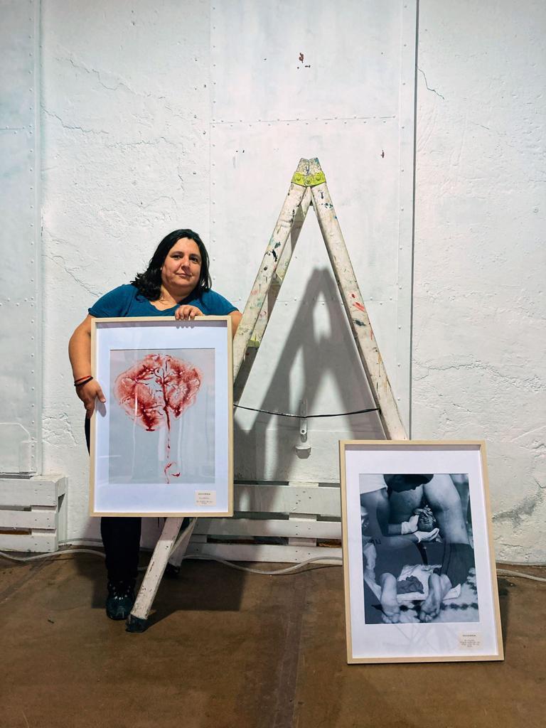 """Exposición """"Maternidades"""" de Nerea Garaizar en Zawp."""
