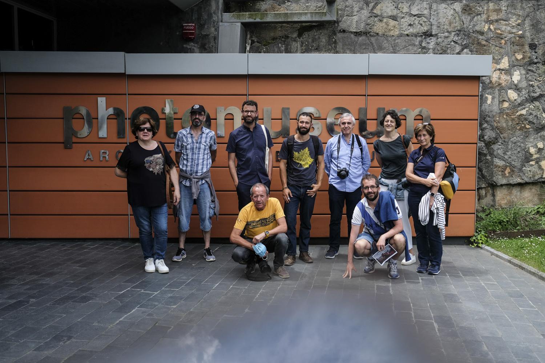 Nueva visita al Photomuseum de Zarautz.