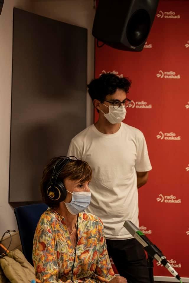 Blackkamera en Radio Euskadi.