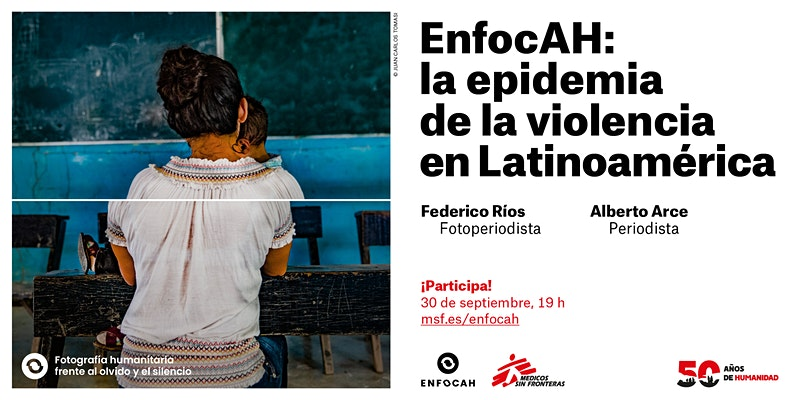 Tercer encuentro online de EnfocAH, la fotografía humanitaria frente al olvido y el silencio.