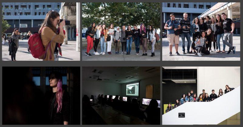 Blackkamera vuelve a las clases presenciales en la UPV/EHU.
