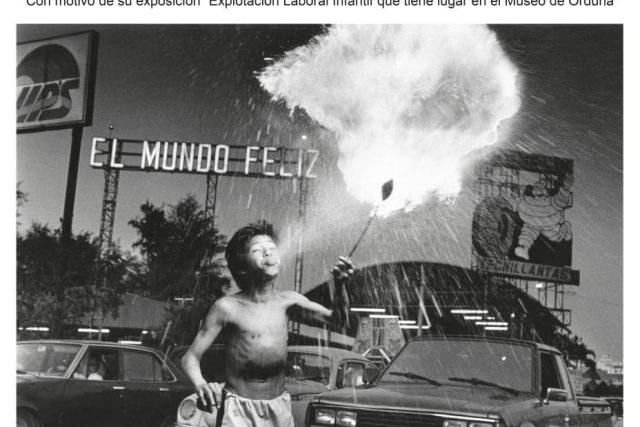 Charla del fotógrafo Fernando Moleres en Orduña