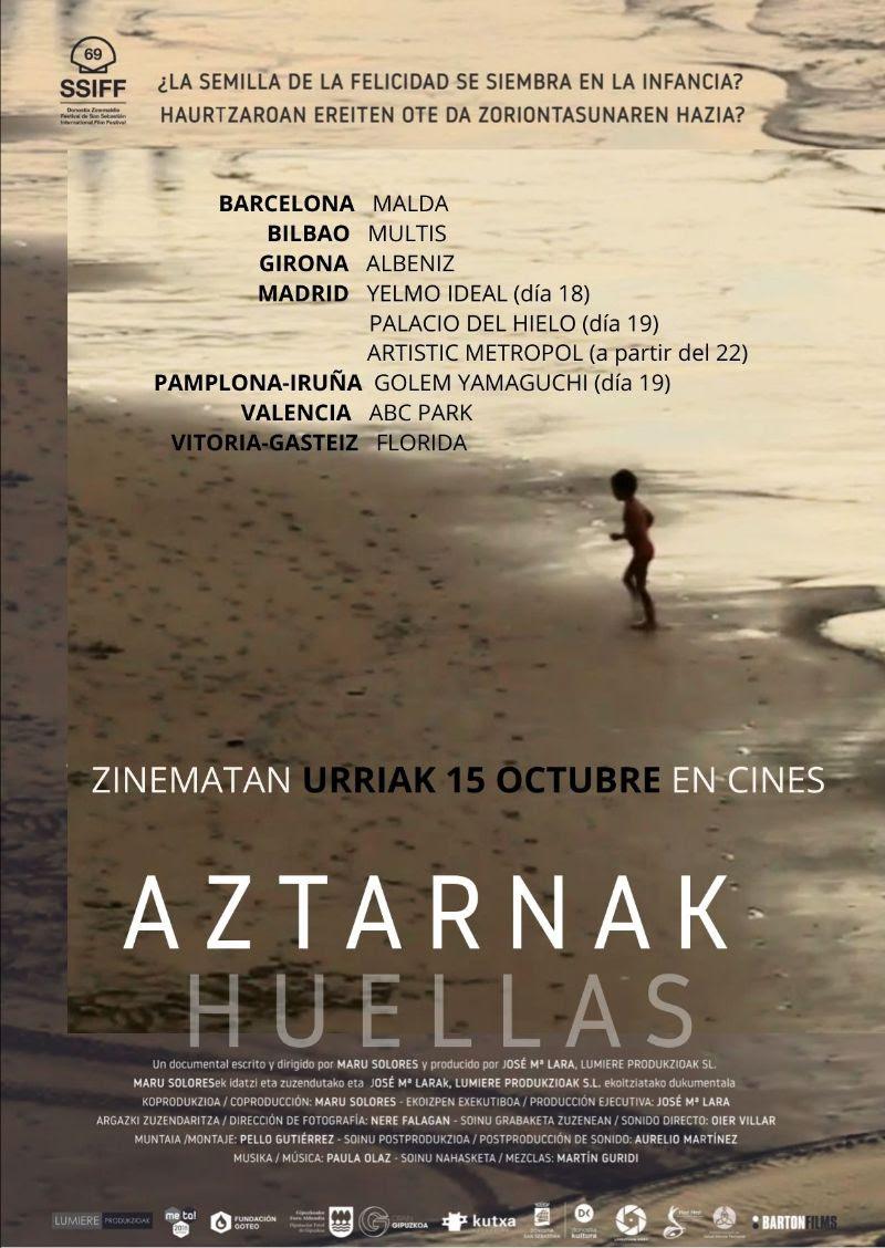 Aztarnak - Huellas -